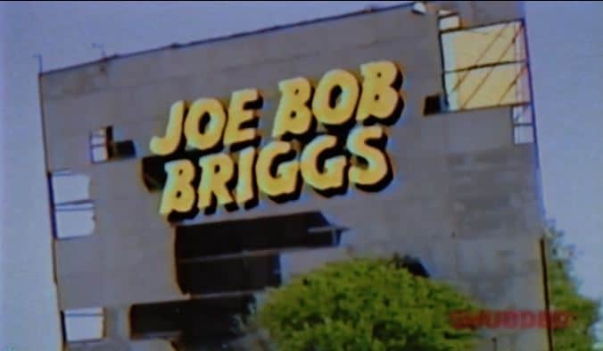 2nd RECAP Joe Bob Briggs 1 - The Last Drive-In Marathon — Christmas in July: Flick Numero Ten-o